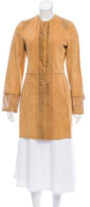Galliano Lightweight Suede Jacket