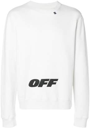 Off-White Wing Off logo sweatshirt