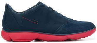 Geox contrast sole sneakers