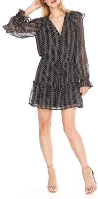 Paige Pomello Silk Blouson Dress