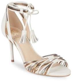 Vince Camuto Stellima Ankle-Strap Leather Sandals