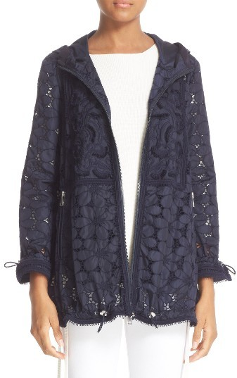 MonclerWomen's Moncler Madeleine Laser Cut Coat