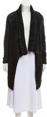 Theory Wool Open Front Cardigan