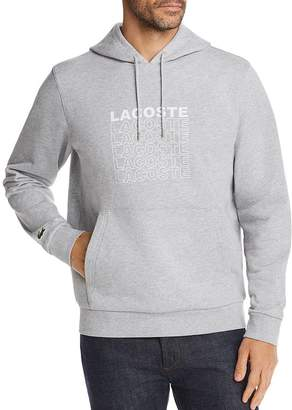 Lacoste Logo Graphic Hooded Sweatshirt