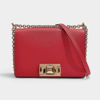 1cba87d42 Furla Mimi' Mini Crossbody Bag In Black Calfskin