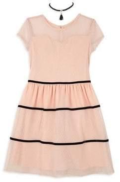 Esprit Ally B Girl's Point D Short-Sleeve Dress