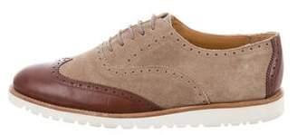 Emporio Armani Leather & Suede Brogue Oxfords