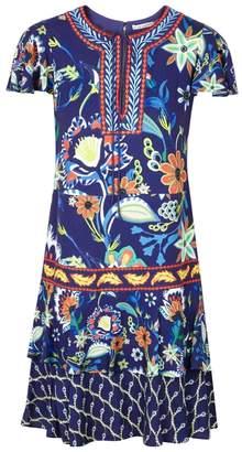 Alice + Olivia Kora Floral-print Dress