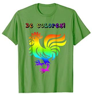 Cursillo Shirt De Colores Shirt Rainbow Rooster