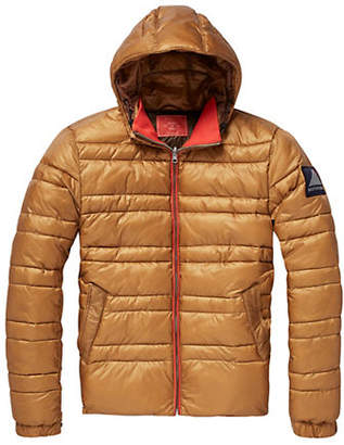 Scotch & Soda Quilted Hooded Down Jacket