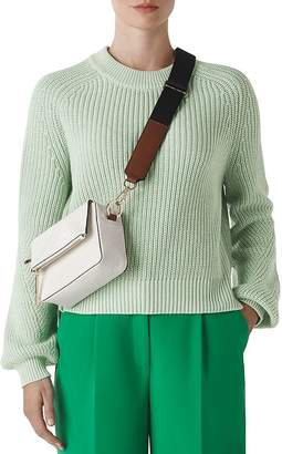 Whistles Ribbed Crewneck Sweater