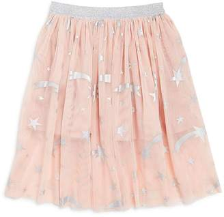 Stella McCartney Girls' Foil Star Print Skirt - Little Kid, Big Kid