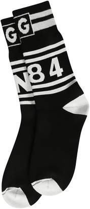 Dolce & Gabbana Graphic Print Socks