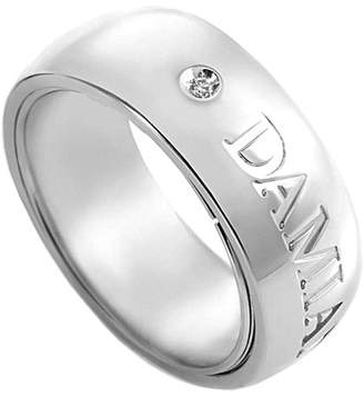 Damiani 18K White Gold Orbital Collection Diamond Ring