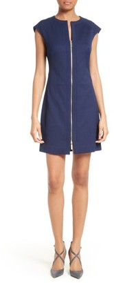 Women's Ted Baker London Illidd Textured Front Sheath Dress $295 thestylecure.com