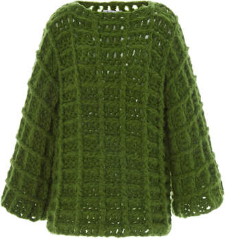 Tuinch Exclusive Waffle-Knit Cashmere Sweater