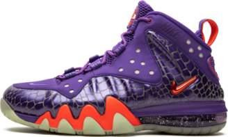 brand new 530da 10153 Nike Barkley Posite Max Court Purple Team Orange