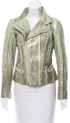 Tod's Ayers Snakeskin Jacket