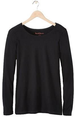 Women's Perfect Fit Pima Tee $38 thestylecure.com