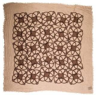 Gucci Wool-Blend Printed Scarf