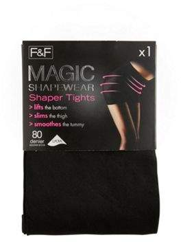 F&F Magic Shapewear 80 Denier Shaper Tights With Lycra