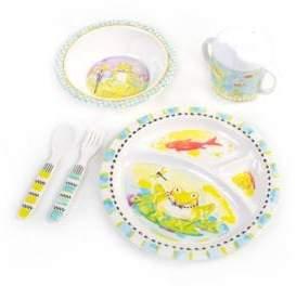 Mackenzie Childs MacKenzie-Childs Toddler's Five-Piece Frog Dinnerware Set