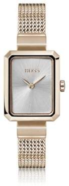 BOSS Hugo Carnation-gold-plated watch rectangular face One Size Assorted-Pre-Pack