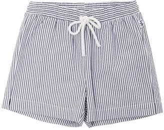 Il Gufo Cotton Seersucker Bermuda Shorts