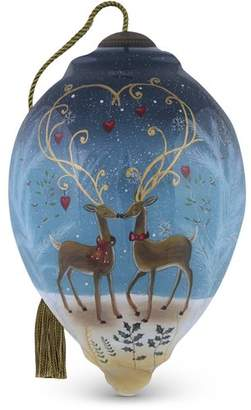 """Precious Moments Reindeer Love"""" Princess Christmas Shaped Ornament by Sarah Summers"""