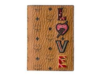 MCM Love Patch Visetos Passport Holder