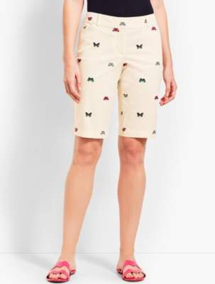 """Talbots 10 1/2"""" Perfect Short-Butterfly"""