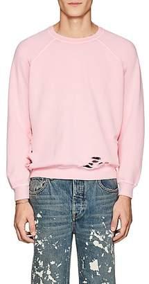 NSF Men's Distressed Cotton Terry Sweatshirt