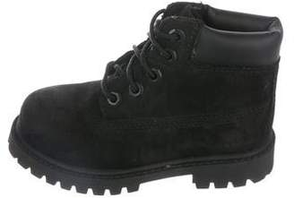 Timberland Boys' Suede Ankle Boots