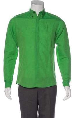 Gucci Linen-Blend Shirt