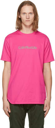 Nonnative Pink Color Your Life T-Shirt
