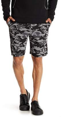 Sovereign Code Limits Camo Print Knit Shorts