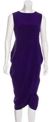 Zero Maria Cornejo Silk Midi Dress