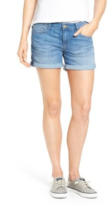 Women's Mavi Jeans 'Vanna' Cuffed Denim Shorts $88 thestylecure.com