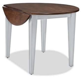 """Imagio Home Small Space Dining collection by Intercon - 42"""" Round Drop Leaf Table"""