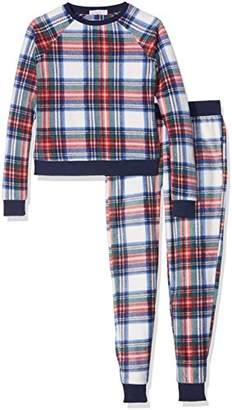 61de44b920 New Look 915 Girl s Fleece Festive Check Non-Wired