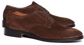 Brooks Brothers Unstructured Suede Blucher