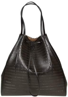 Alaia Laser-cut Leather Bag