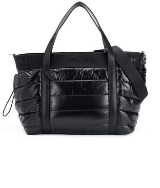 Moncler quilted shell changing bag