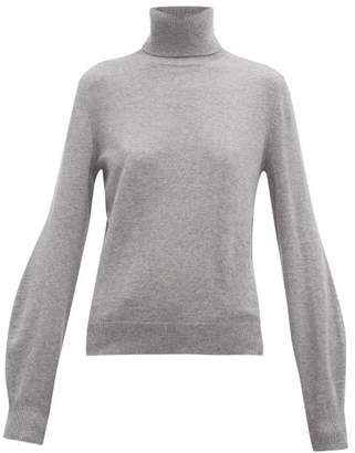 Chloé Roll Neck Cashmere Sweater - Womens - Grey