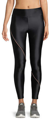 Koral Activewear Street Full-Length Leggings with Contrast Piping
