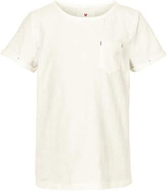 Fat Face Girls' Short Sleeve Plain T-Shirt