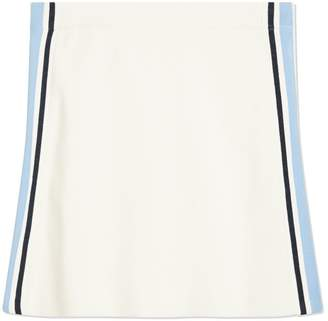 Performance Retro-Stripe Tennis Skirt