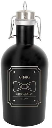 Cathy's Concepts Cathys Concepts Personalized Stainless Steel Groomsman 64 Oz. Growler