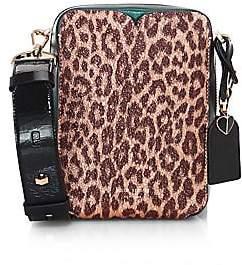 Kate Spade Women's Medium Cleo Embossed Leather Camera Bag