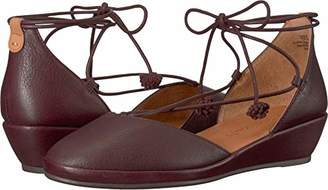 d3092f3a076b at Amazon.com · Gentle Souls by Kenneth Cole Women s NERISSA LOW WEDGE WITH  LACEUP POM POM Shoe